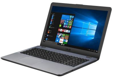 "F542UA-GQ1157T Asus Value F542UA 8th gen Notebook Intel Quad i7-8550U 1.80Ghz 4GB 1TB 15.6"" WXGA HD UHD 620 BT Win 10 Home"