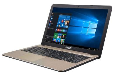 "X540NA-GQ254T Asus VivoBook X540NA Notebook Celeron Dual N3350 1.10Ghz 4GB 500GB 15.6"" WXGA HD IntelHD BT Win 10 Home"